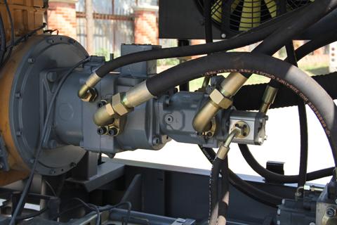 双泵双回路液压系统图片